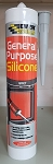 EVERBUILD GENERAL PURPOSE SILICONE 280ML C3 GREY