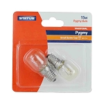 Status 15w  Pygmy SES Clear 2 pk Blister Card