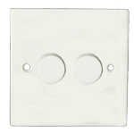 Sparkpak 2 Gang 2 Way Dimmer 400W