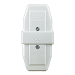 Sparkpak 10A 3 Pin Connector White