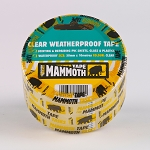 Everbuild  CLEAR WEATHERPROOF TAPE 50MM X 33MTR CLEAR
