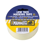 Everbuild  LOW TACK MASKING TAPE 25MM X 25MTR OFF WHITE