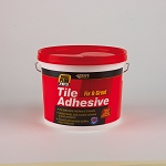 Everbuild  703 FIX AND GROUT TILE ADHESIVE 16KG WHITE
