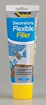 Everbuild  FLEXIBLE DECORATORS FILLER EASY SQUEEZE 200ML WHITE