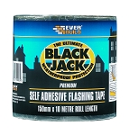 Everbuild  BLACK JACK FLASH TRADE 10M 10M X 150MM LEAD LOOK