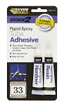 Everbuild  STICK 2 RAPID EPOXY TUBE 12ML x2 CLEAR