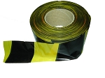 Everbuild  BARRIER TAPE  72MM X 500MTR BLACK & YELLOW