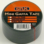 STUK Gaffa Tape 48mm x 10m Black
