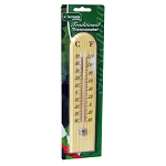Kingfisher Traditional Wooden Thermometer