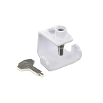 Securit Window stay clamp White universal   - S1045