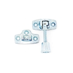 Securit Sash window fastener ZP             - S1047