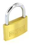 Securit Brass padlock 45mm                  - S1156