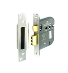 Securit 5 lever sash lock BS3621 St.Steel 75mm - S1782