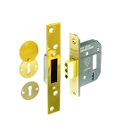 Securit 5 lever dead lock BS3621 Brass 63mm - S1794