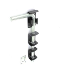 Securit Garage door bolt Blk 300mm          - S5193