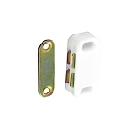 Securit Magnetic catch White 40mm           - S5430