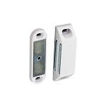 Securit Heavy magnetic catch White 60mm     - S5433