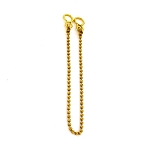 Securit Sink chain ball Brass 300mm         - S6845