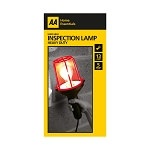 AA BRAND ACCESSORIES 60w - 5Mtr - Inspection Lamp - Red & Black - BC - AA - 1 pk - in Glossy Retail Box