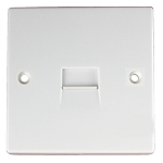 Sparkpak Secondary Telephone Socket - White Moulded