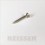 Reisser R2 Woodscrews Csk Pozi Yellow Box 200  5.0 x 55
