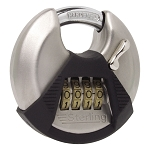 Sterling 70mm Stainless Disc Combination Padlock