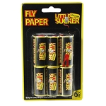 Kingfisher 6 Pack Fly Paper Strip