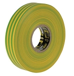 Everbuild  ELECTRICAL INSULATION TAPE 19MM X 33MTR YELLOW/GREEN